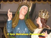 La Santa patrona  S. Anna   - Malvagna (5165 clic)