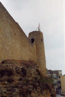 lato castello di Chiaramonte  - Naro (5351 clic)