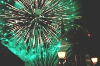 Catenanuova 25 settembre 2005, festa del Patrono San Prospero martire, gli spettacolari fuochi pirotecnici della ditta Chiarenza di Belpasso.  - Catenanuova (1658 clic)