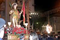 Catenanuova 25 settembre 2005, festa del Patrono San Prospero martire, sul palco il messaggio di Padre Natalino Bellone agli emigrati Argentini e dell'U.SI.C.A. (Unione Siciliani Catenanuovesi-Argentini).  - Catenanuova (1921 clic)
