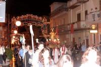 Catenanuova 25 settembre 2005, festa del Patrono San Prospero martire, in via P.pe Umberto, un particolare ringraziamento và al gruppo AGESCI - SCOUT CATENANUOVA 1 per l'attiva partecipazione.  - Catenanuova (2435 clic)