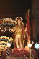 Catenanuova 25 settembre 2005, festa del Patrono San Prospero martire, in via P.pe Umberto.  - Catenanuova (1791 clic)