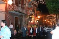 Catenanuova 25 settembre 2005, festa del Patrono San Prospero martire, in via P.pe Umberto.  - Catenanuova (2064 clic)
