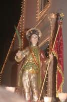 Catenanuova 25 settembre 2005, festa del Patrono San Prospero martire, all'uscita dalla Chiesa Madre.  - Catenanuova (2162 clic)