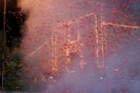 Catenanuova 25 settembre 2005, festa del Patrono San Prospero martire, la trionfale uscita dalla Chiesa Madre.  - Catenanuova (1838 clic)