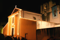 Catenanuova 25 settembre 2005, festa del Patrono San Prospero martire, la trionfale uscita dalla Chiesa Madre, pioveva ma appena il Santo uscì smesse di piovere.  - Catenanuova (2011 clic)