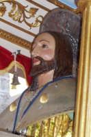 Capizzi (ME), 26 luglio 2007 Festa del Protettore San Giacomo Apostolo Maggiore - particolare del volto del Santo.  - Capizzi (4532 clic)