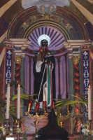 Agrigento - 8 luglio 2007 Festa di San Calogero eremita compatrono della città, il Santo sul suo altare prima della processione.  - Agrigento (1899 clic)