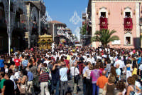 Misterbianco 5 agosto 2007 - Festa Grande del Patrono Sant'Antonio Abate, verso le vie cittadine.  - Misterbianco (2261 clic)