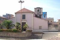 Catenanuova, Chiesa Madre addobbata per le Feste Patronali, settembre 2005.  - Catenanuova (2039 clic)