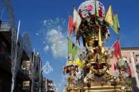 Misterbianco 5 agosto 2007 - Festa Grande del Patrono Sant'Antonio Abate, il grandioso spettacolo pirotecnico che saluta l'uscita del Santo.  - Misterbianco (2103 clic)