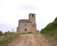 Monte Scalpello, retro del Santuario, (festa prima domenica di maggio e ottobre).   - Catenanuova (3893 clic)