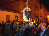Catenanuova, festa in onore di Maria SS. Immacolata nel 150° del dogma, 08 dicembre 2004.  - Catenanuova (3111 clic)