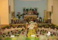 Catenanuova, Giovedì Santo 2005: il SEPOLCRO; altare del SS. Sacramento navata laterale Chiesa Madre. (Foto concessa da Carmelo Di Marco).  - Catenanuova (7110 clic)