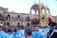 2 luglio, festa di Maria SS. della Visitazione Patrona di Enna, la nave d'oro in piazza Duomo, negli