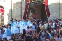2 luglio, festa di Maria SS. della Visitazione Patrona di Enna, l'uscita di San Giuseppe dal Duomo.