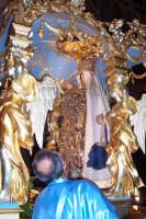 2 luglio, festa di Maria SS. della Visitazione Patrona di Enna, sulla preziosissima nave d'oro al Du