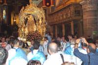 2 luglio, festa di Maria SS. della Visitazione Patrona di Enna, sulla preziosissima nave d'oro al Duomo.  - Enna (4180 clic)