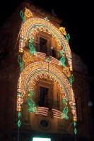 Palermo 14 luglio 2007 - 383° Festino di Santa Rosalia Patrona della Città, particolare di un lato d
