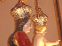 Catenanuova, 18 settembre 2005, festa in onore della compatrona Maria SS. delle Grazie, l'uscita dalla Chiesa Madre (foto concessa da Carmelo Di Marco).    - Catenanuova (1800 clic)