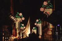 Palermo 14 luglio 2007 - 383° Festino di Santa Rosalia Patrona della Città, la processione si dirige