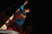 Palermo 14 luglio 2007 - 383° Festino di Santa Rosalia Patrona della Città, particolare del simulacr