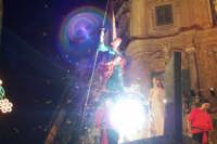 Palermo 14 luglio 2007 - 383° Festino di Santa Rosalia Patrona della Città, il carro trionfale giung
