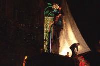 Palermo 14 luglio 2007 - 383° Festino di Santa Rosalia Patrona della Città, il sindaco scende dal ca
