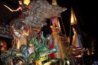 Palermo 14 luglio 2007 - 383° Festino di Santa Rosalia Patrona della Città, il carro della Santa è p