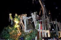 Palermo 14 luglio 2007 - 383° Festino di Santa Rosalia Patrona della Città, il carro del male che pr