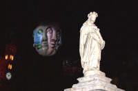 Palermo 14 luglio 2007 - 383° Festino di Santa Rosalia Patrona della Città, particolare di un multif