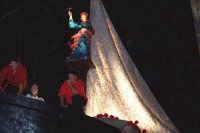 Palermo 14 luglio 2007 - 383° Festino di Santa Rosalia Patrona della Città, particolare del carro tr