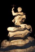 Palermo 14 luglio 2007 - 383° Festino di Santa Rosalia Patrona della Città, la statua di marmo della