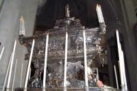 Palermo 14 luglio 2007 - 383° Festino di Santa Rosalia Patrona della Città, l'artistica urna d'argen