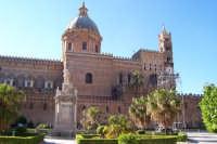 Palermo 14 luglio 2007 - 383° Festino di Santa Rosalia Patrona della Città, esterno della maestosa C