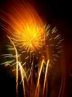 Domenica 30 settembre 2007 - la Festa di San Prospero martire Patrono di Catenanuova, i fuochi piromusicali barocchi di mezzanotte. (Foto concessa dal carissimo Riccardo Spoto)  - Catenanuova (1648 clic)