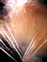 Domenica 30 settembre 2007 - la Festa di San Prospero martire Patrono di Catenanuova, i fuochi piromusicali barocchi di mezzanotte. (Foto concessa dal carissimo Riccardo Spoto)  - Catenanuova (1529 clic)