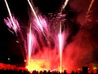 Domenica 30 settembre 2007 - la Festa di San Prospero martire Patrono di Catenanuova, i fuochi piromusicali barocchi di mezzanotte. (Foto concessa dal carissimo Riccardo Spoto)  - Catenanuova (1538 clic)