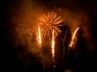 Domenica 30 settembre 2007 - la Festa di San Prospero martire Patrono di Catenanuova, i fuochi piromusicali barocchi di mezzanotte. (Foto concessa dal carissimo Riccardo Spoto)  - Catenanuova (1715 clic)