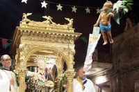 Santa Maria di Licodia, 27 agosto 2007 - Festa del Patrono San Giuseppe, la calata dell'angelo.  - Santa maria di licodia (5549 clic)