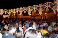 Santa Maria di Licodia, 27 agosto 2007 - Festa del Patrono San Giuseppe, la piazza gremita per l'asta di San Giuseppe.  - Santa maria di licodia (5401 clic)