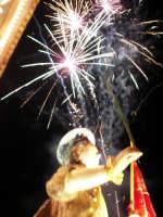 Domenica 30 settembre 2007 - la Festa di San Prospero martire Patrono di Catenanuova, la trionfale uscita dalla Chiesa Madre. (Foto concessa dal carissimo Riccardo Spoto)  - Catenanuova (1685 clic)