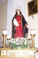 Catenanuova, Venerdì Santo - la Vergine Addolorata in chiesa madre prima della salita al Calvario. (Foto concessa dal carissimo Nicolò Fiorenza)  - Catenanuova (1609 clic)