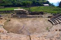 Aidone (En), MORGANTINA scavi archeologici, il teatro.  - Aidone (2207 clic)