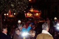 Catenanuova, Venerdì Santo - la processione di Cristo morto e dell'Addolorata su via Umberto. (Foto concessa dal carissimo Nicolò Fiorenza)  - Catenanuova (1716 clic)