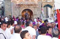 Troina 15 luglio 2007 - Festa di Sant'Antonio Abate, l'uscita del Santo.  - Troina (3477 clic)