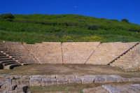 Aidone (En), MORGANTINA scavi archeologici, il teatro.  - Aidone (3176 clic)
