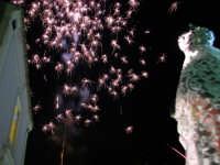 Catenanuova 23 settembre 2007 - Festa di Maria SS. delle Grazie compatrona della città, i fuochi pirotecnici dell'entrata. (Foto Riccardo Spoto)  - Catenanuova (1655 clic)