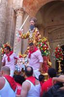 Palazzolo Acreide (SR) - 29 giugno 2007 festa di San Paolo Apostolo Patrono della Città, il rientro in Basilica.  - Palazzolo acreide (1798 clic)