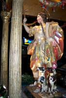 Regalbuto 11 agosto 2007 - Festa del Patrono San Vito martire, l'artistico e glorioso simulacro del Santo, opera lignea di Giuseppe Picano scultore napoletano del XVIII sec.  - Regalbuto (4267 clic)